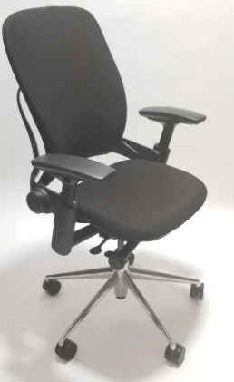 Steelcase Leap Chair V2 In Black Leather and In Polished Aluminium Executive Office Chair - Walmart.com  sc 1 st  Walmart & Steelcase Leap Chair V2 In Black Leather and In Polished Aluminium ...