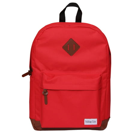 Folding City - Backpack For Girl Teenagers Pig Nose Designs Fashion Casual  Travel Red School Bag - Walmart.com 0f0fc4c6afc8e