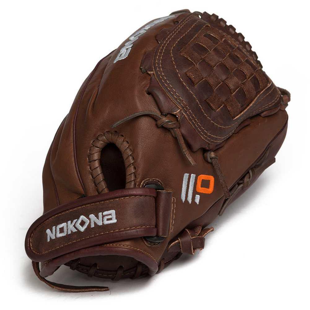 "Nokona X2 Buckaroo Fastpitch Softball Glove 12.5"" Closed ..."