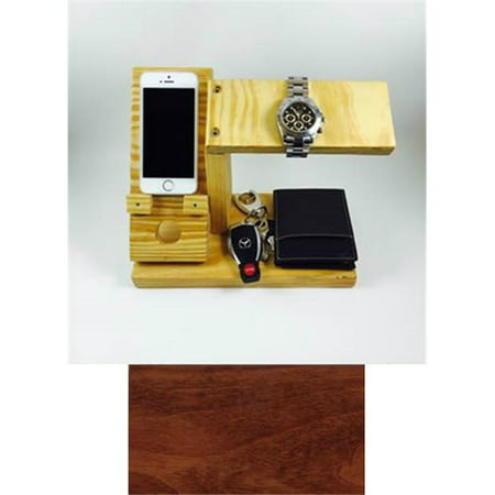 Products 4 Home All-In-One Phone Charging Station, Watch Stand, and Valet Organizer - - Charging Valet Cherry