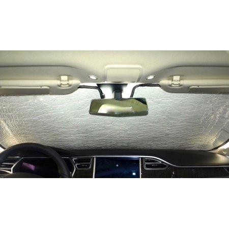 Sunshade for Land Rover Range Rover Sport 2010 2011 2012 2013 Custom Fit Windshield Sunshade ()