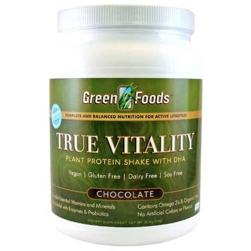Green foods true vitality