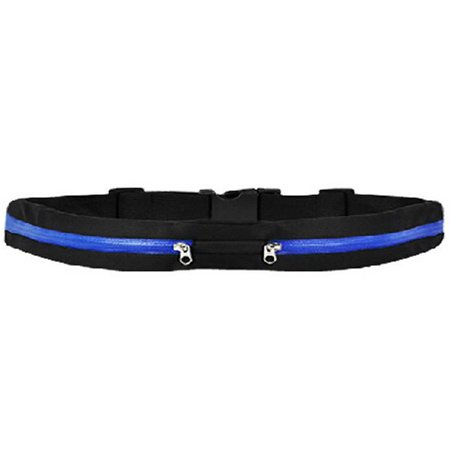 Outdoor Sweatproof Waist Pack Belt Fitness Workout Belt for Trail Running or