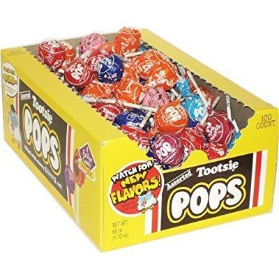 tootsie roll pops: 100 ct
