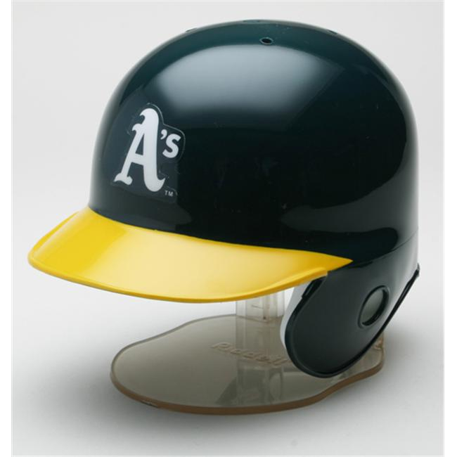 Creative Sports RB-AS Oakland A s Riddell Mini Batting Helmet