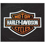 Harley-Davidson 8ft Black Vinyl Pool Table Cover HDL-11160, Harley Davidson