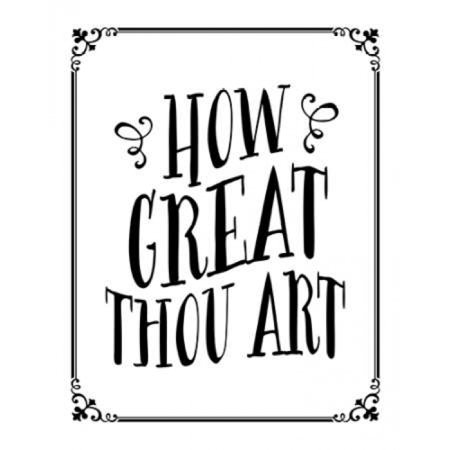 How Great Thou Art Poster Print by  Tara Moss How Great Thou Art