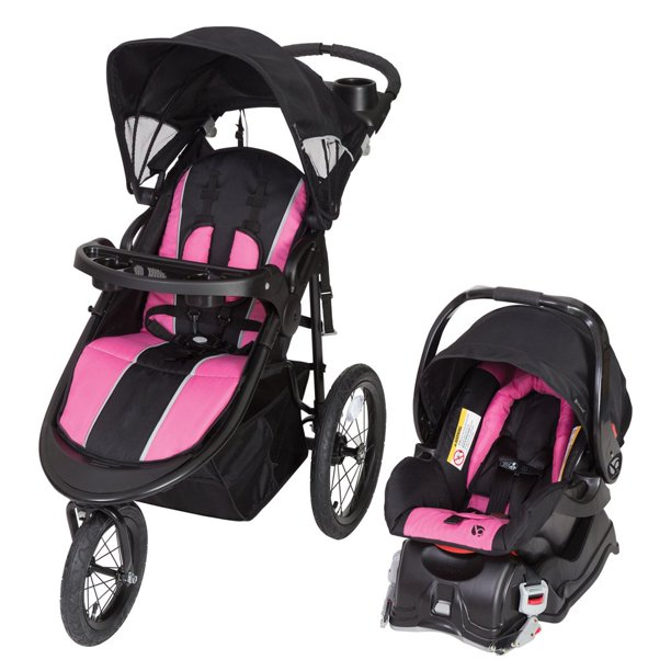 Baby Trend Cityscape Jogger Travel System, Rose - Walmart ...