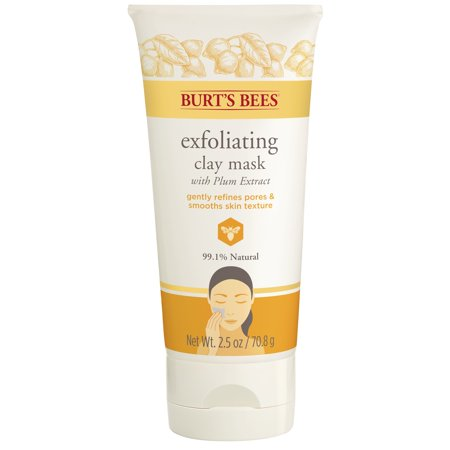 - Burt's Bees Exfoliating Clay Mask - 2.5 ounce