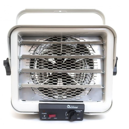 Dr. Infrared Heater 6,000 Watt Wall Mounted Electric Fan Utility Heater
