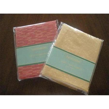 Tapestry Trading LJC1104-1717-4PKG Goldthread Fabric Napkins Set, Gold for $<!---->