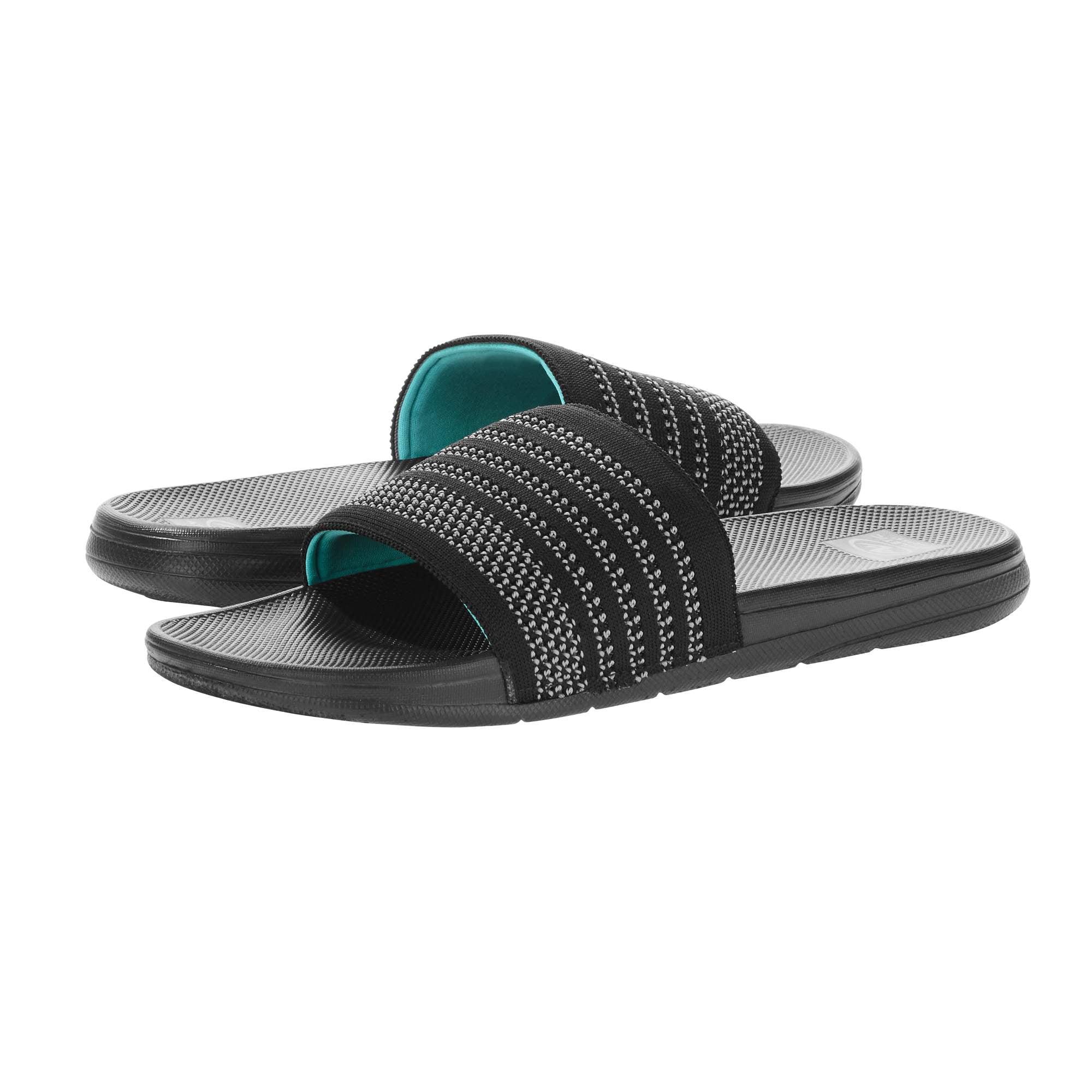Athletic Works Men's Knit Slide Sandal