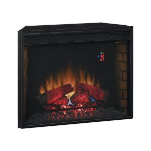 """Classic Flame 28"""" 28EF023SRA Electric Fireplace Insert w/ Mesh Front"""