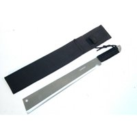 """High Quality Defender 20"""" Machete Full Tang. With Deluxe Black Sheath And Strap"""