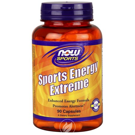 Now Foods, Sports Energy Extreme, 90 Capsules, Pack of 2