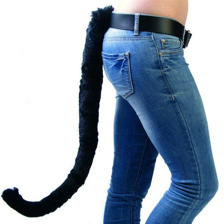 Black Anime Cat Tail - Halloween Based Anime