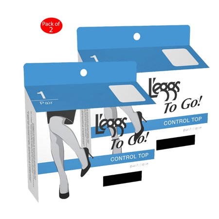 df60ee0a4 Leggs To Go Control Pantyhose 1 pair