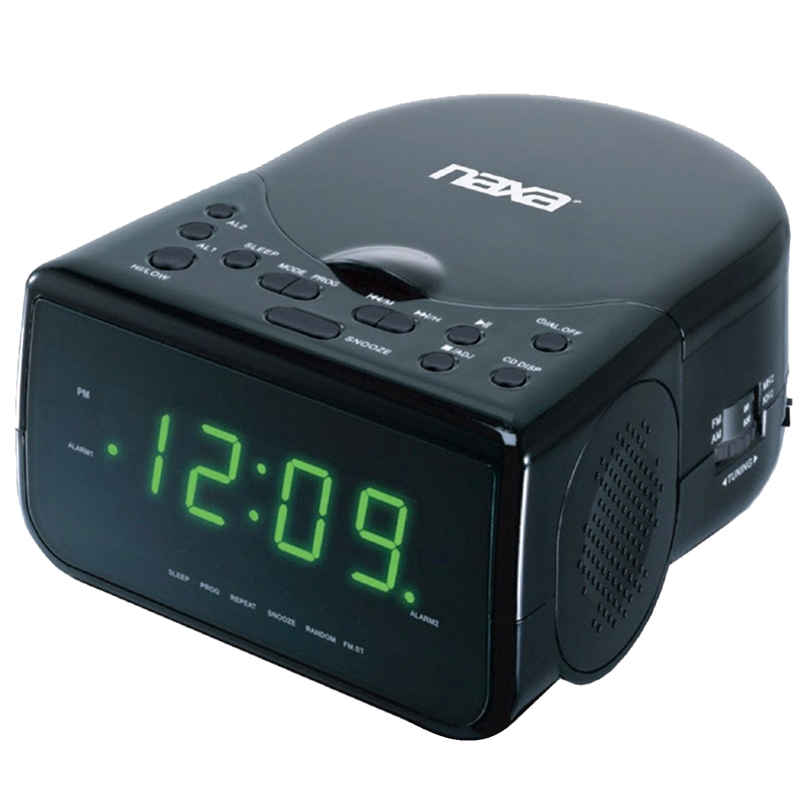 Alarm colck radio with CD player