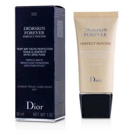 Christian Dior Diorskin Forever Perfect Mousse Foundation - # 033 Apricot Beige 30ml/1oz Make Up (Perfecting Mousse)