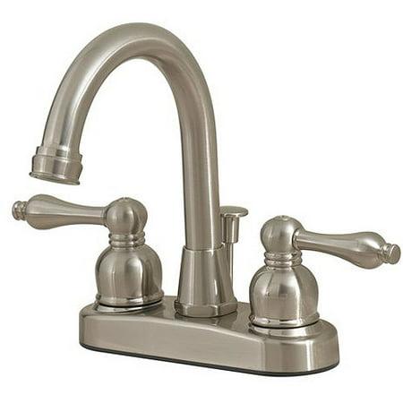 Solutions by Peerless Hi-Rise Bath Faucet, Satin Nickel - Walmart.com