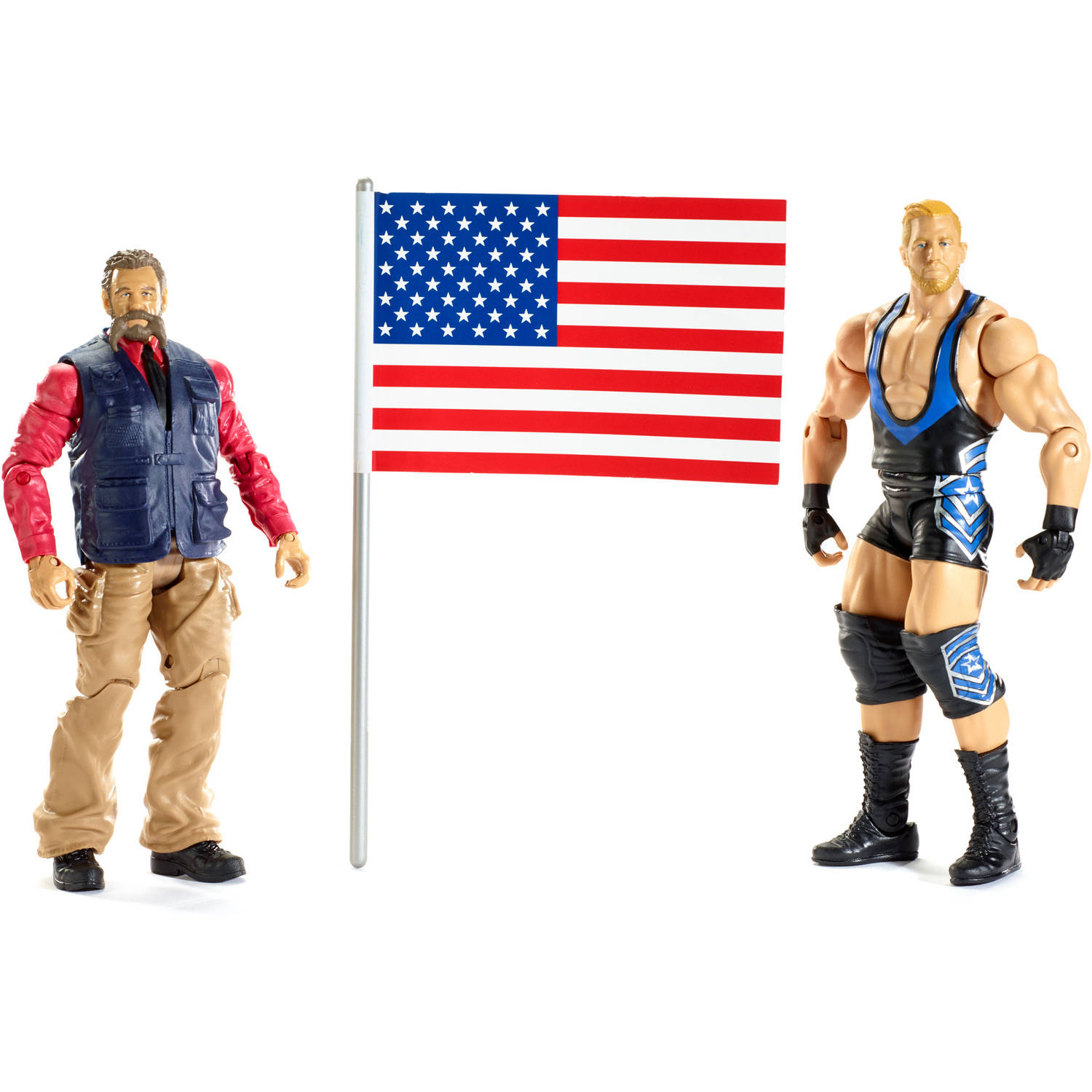 WWE Jack Swagger and Zeb Colter Action Figures, 2 Pack