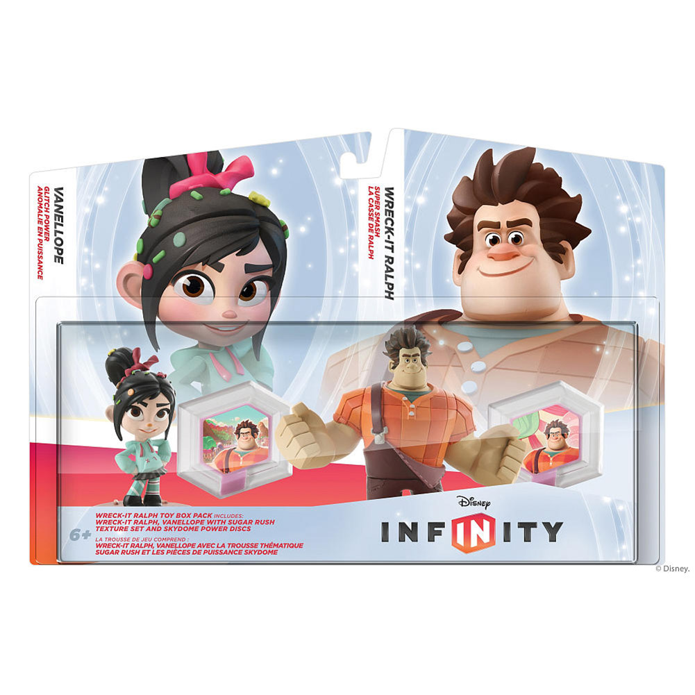 Disney Infinity Wreck-It Ralph Toy Box Pack