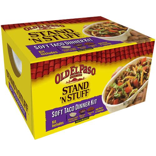 Old El Paso? Stand 'n Stuff? Soft Taco Dinner Kit 10.9 oz. Box
