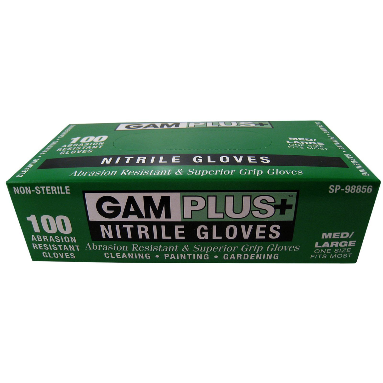 Great American Marketing Nitrile Gloves, 100pk