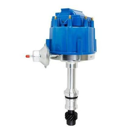 01 Distributor (A-Team Performance Oldsmobile Small Block Big Block HEI Distributor 350 400 455 Blue)