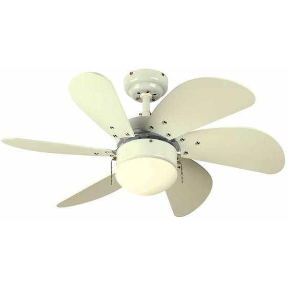 Westinghouse 7814565 30 Quot White 6 Blade Ceiling Fan With
