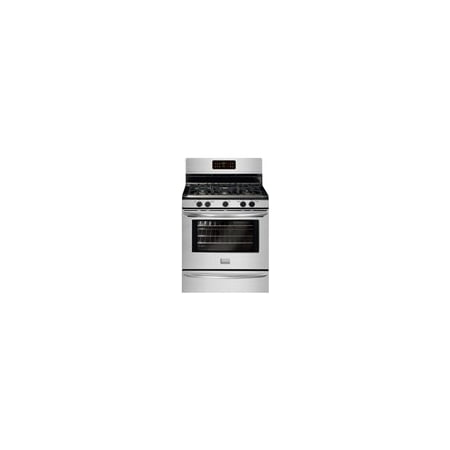 Frigidaire Gallery Series FGGF3030PF - Range - freestanding - niche - width: 30 in - depth: 24 in - with self-cleaning - stainless steel ()