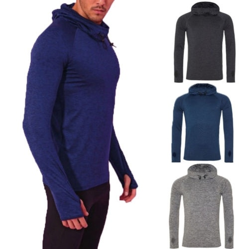 Men/'s Spoer Jacket Hoodie Hooded Sweatshirt Tops Long Sleeve Casual Slim Coat