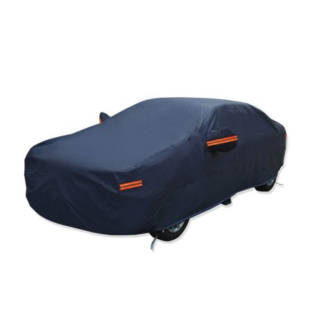 PEVA Universal Fit Hatchback Car Cover - Resistant UV,Snow,Waterproof fits 2015-2019 FORD MUSTANG
