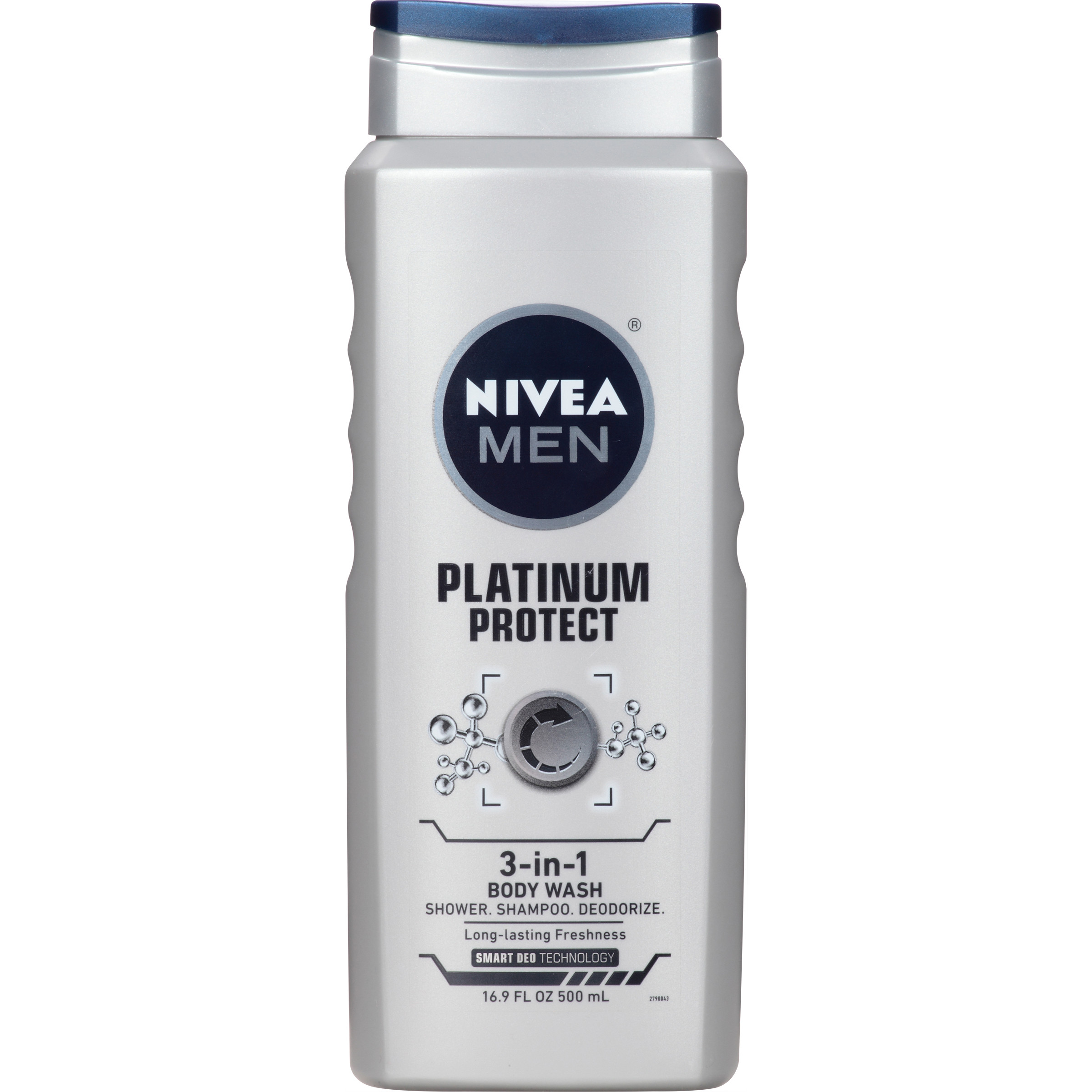 NIVEA® Men Platinum Protect 3-in-1 Body Wash 16.9 fl. oz.