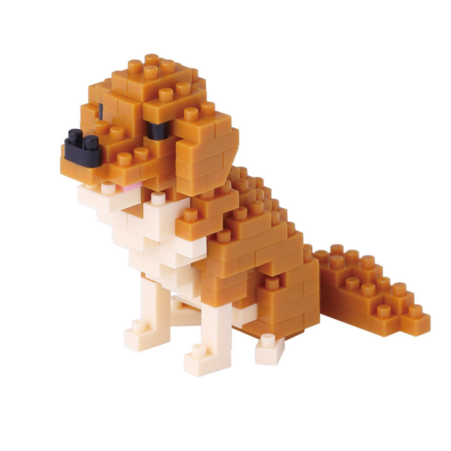Golden Retriever Mini Building Set by Nanoblock (NBC168) by nanoblock