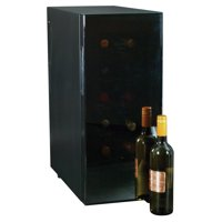Koolatron 12 Bottle Thermoelectric Wine Cooler with Temperature Controls