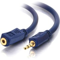 100FT VELOCITY 3.5MM STEREO M/F AUDIO EXTENSION CABLE