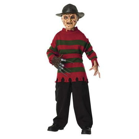 Freddy Kruger Sweater Child Boys Costume R10805 - Medium (8-10)