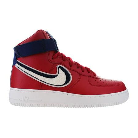 online retailer b2c65 f770f Nike - Mens Nike Air Force 1 High  07 LV8 Gym Red White Blue Varsity  806403-6 - Walmart.com