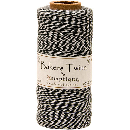 Hemptique Cotton Bakers Twine Spool, 2-Ply, 410'