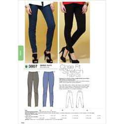 Kwik Sew Pattern Pants, (XS, S, M, L, XL)