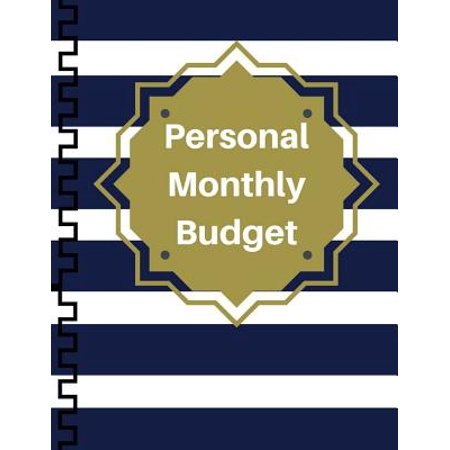 Personal Monthly Budget : Expense Tracker Bill Organizer Business Money Personal Finance Journal Planning 30 Month 8.5x11 (Bill Organizer)