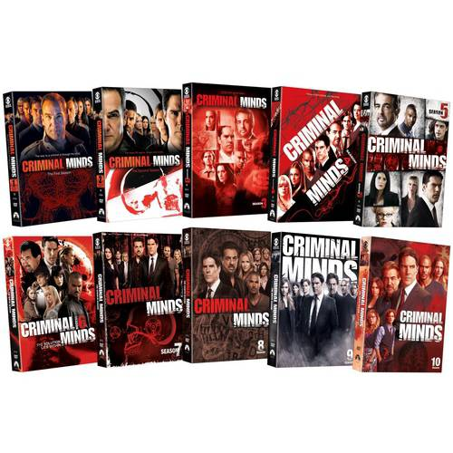 Paramount Criminal Minds: Seasons 1-10 Pack
