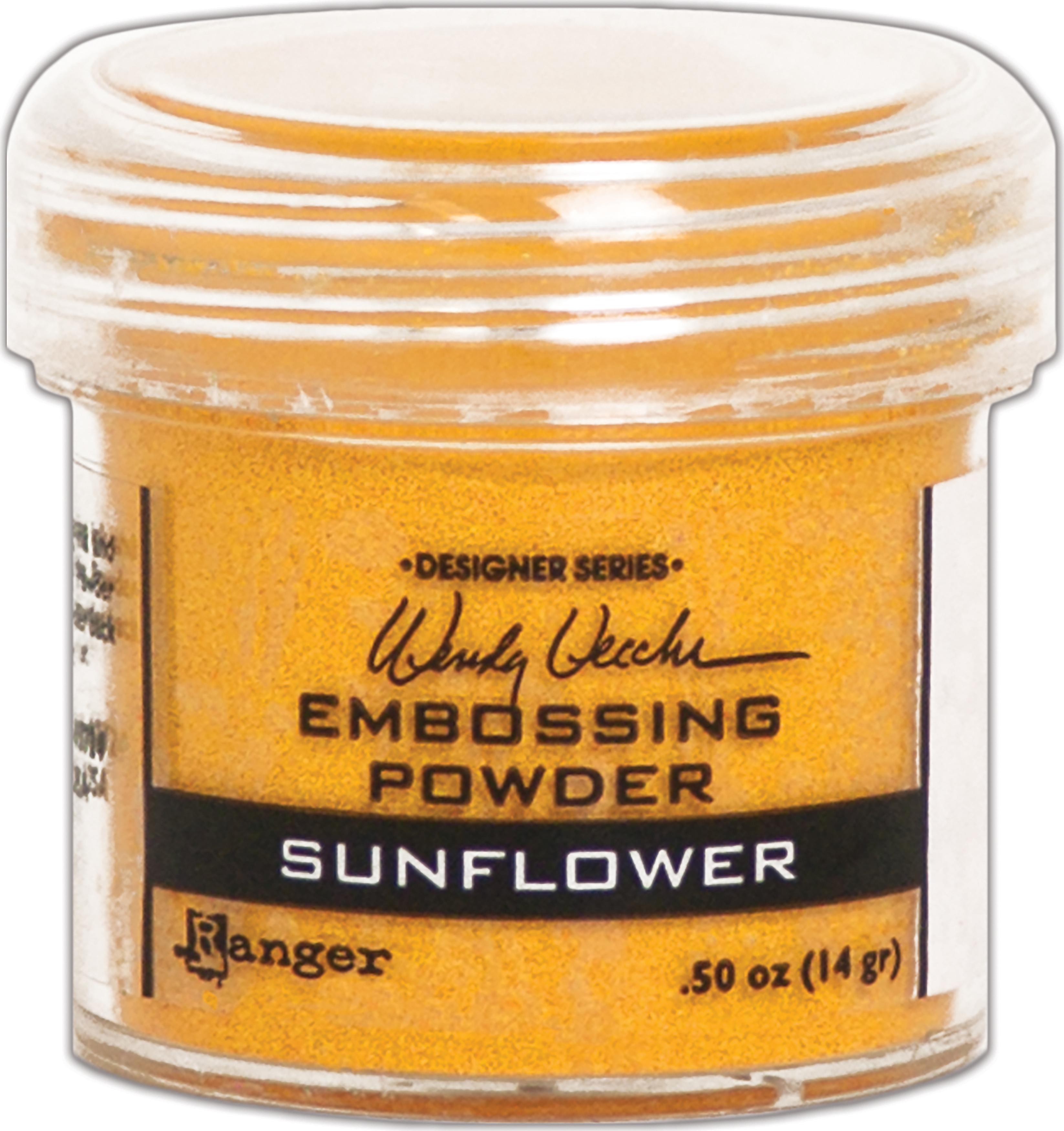 Wendy Vecchi Embossing Powder -Sunflower