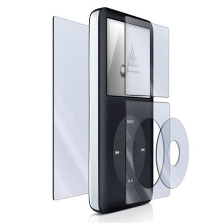 Insten 5x 4-Piece Kit Screen Protector Shield Film For iPod Classic 80GB 120GB 160GB (Ipod 4 Front Screen)