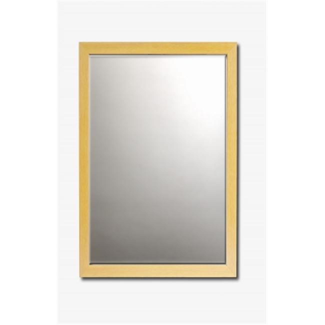 Barewalls 448091 Beveled Mirror Framed in Maple