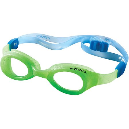 FINIS Fruit Basket Green Sour Apple Scented Swim Goggles for Children