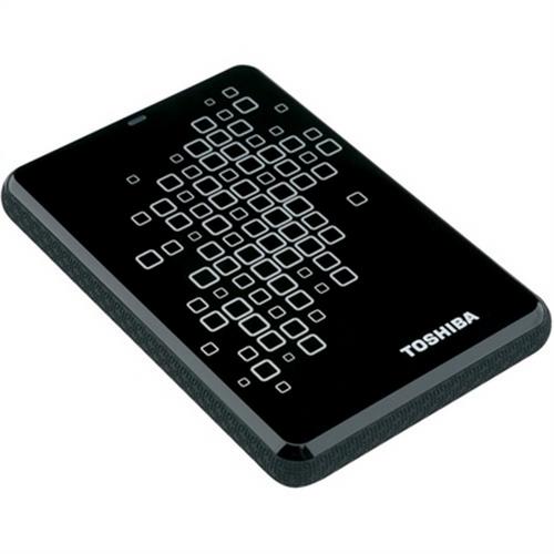 Refurbished Toshiba 500 Gb Canvio Black with White Accents 3.0 USB External Hard Drive
