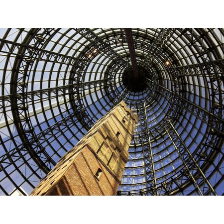 Historical Shot Tower, Melbourne Central Mall, Melbourne, Victoria, Australia Print Wall Art By David (Melbourne City Mall)