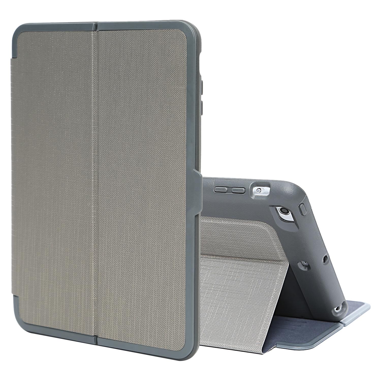 TKOOFN Flip Folio Shockproof Wallet Stand Case Cover with Auto Sleep/Wake for Apple iPad Mini 1/2/3